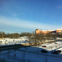 Снимок сделан в Blåsenhus пользователем Iris H. 1/19/2013