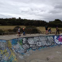 Photo taken at Maroubra Skate Park by John A. on 1/8/2014
