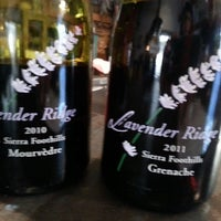 Photo taken at Lavender Ridge Winery by Lisa R. on 5/3/2013