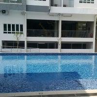 Photo taken at Casa Tropika Swimming Pool by ♚₤mma♚ on 12/10/2015