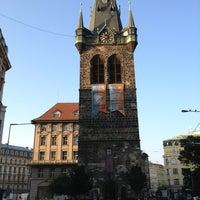 Photo taken at Jindřišská věž by Umut Arpacı on 6/19/2013