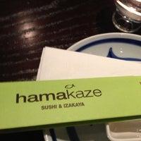Photo taken at Hamakaze Sushi & Izakaya by Tanya L. on 11/6/2012