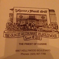 Photo taken at Musso & Frank Grill by Tanya L. on 10/28/2012
