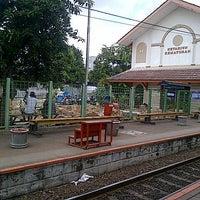 Photo taken at Stasiun Kemayoran by Dian A. on 12/28/2013