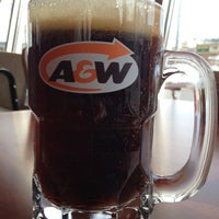 Photo taken at A&W by J T. on 2/27/2014
