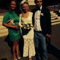"""Photo taken at ресторан """"Корчма"""" задний двор by Ksenya K. on 8/21/2014"""
