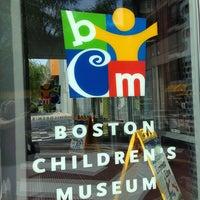 Photo taken at Boston Children's Museum by Amanda M. on 7/24/2013