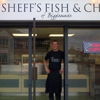 Photo taken at Sheff's Fish & Chips by Sheff's Fish & Chips on 2/1/2014