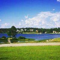 Photo taken at Lake Tobosofkee by Elena A. on 6/6/2015
