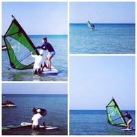 Photo taken at Calista Windsurfing Academy by Elena A. on 8/22/2014