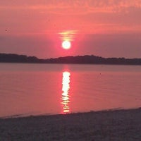 Photo taken at Noyac Bay by Jonathan D. on 9/16/2012