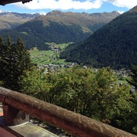 Photo taken at Schatzalp Panorama Restaurant by Ali Tamer B. on 9/14/2014