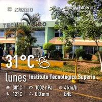 Photo taken at Instituto Tecnológico Superior de Xalapa by Victor H. on 2/25/2013