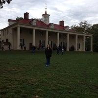 Photo taken at George Washington's Mount Vernon by Selena B. on 10/8/2012