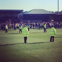 Photo taken at Underhill Stadium by Andy B. on 4/20/2013