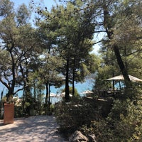 Photo taken at Amanrüya Beach Club by Dogan G. on 8/18/2018