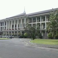 Photo taken at Universitas Gadjah Mada (UGM) by Presticia I. on 2/16/2013