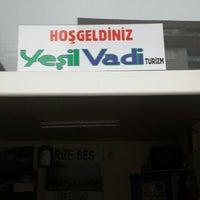 Photo taken at yesil vadi turizm iyidere köprü by Yavuz B. on 11/17/2014