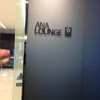 Photo taken at ANA Lounge - Main Bldg. North by Shigemi on 5/6/2013