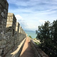 Photo taken at La Rocca Medievale by Juh S. on 9/4/2015