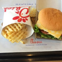 Photo taken at Chick-fil-A by iPhone V. on 10/9/2014