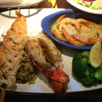 Photo taken at Red Lobster by iPhone V. on 10/10/2014