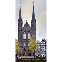 """Photo taken at Rooms-Katholieke Kerk """"De Krijtberg"""" by Jon D. on 10/25/2015"""