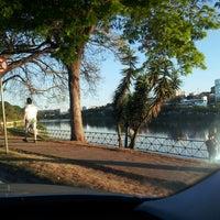 Photo taken at Lago do Orfeu by Guilherme W. on 9/12/2013