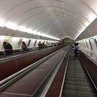 Photo taken at Metro =B= Anděl by Bekir A. on 8/29/2017