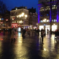 Photo taken at Leidseplein by Guido L. on 4/12/2013