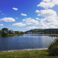 Photo taken at Mooragh Park by CJ S. on 7/30/2015