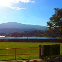 Photo taken at Mooragh Park by CJ S. on 10/30/2014