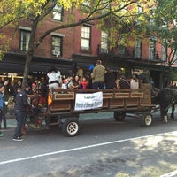 Photo taken at Bleecker Playground by Dominic P. on 10/26/2014