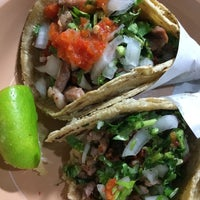 Photo taken at Tacos de Asada by Alejandro L. on 6/8/2014