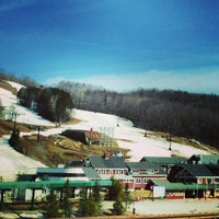 Photo taken at Bromley Sun Lodge Peru (Vermont) by Paul C. on 4/15/2014