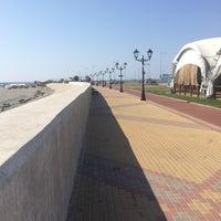 Снимок сделан в Набережная Олимпийского парка пользователем Pavel K. 9/26/2015