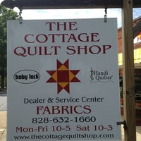 Photo taken at The Cottage Quilt Shop by Chad R. on 6/24/2013