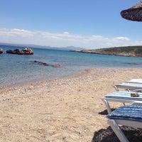 Photo taken at Tuzburnu Plajı by Duygu O. on 6/24/2015