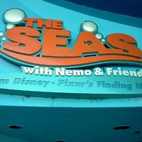 Photo taken at The Seas with Nemo & Friends by CJ H. on 6/9/2013