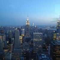 Foto tomada en Top of the Rock Observation Deck  por Thierry M. el 7/6/2013