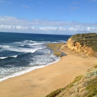 Photo taken at Bells Beach by Thierry M. on 2/11/2013
