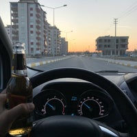 Photo taken at Adıyaman 3.,Çevre Yolu by Ibrahim E. on 12/15/2017