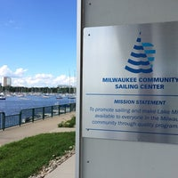 Photo taken at Milwaukee Community Sailing Center by Janet on 7/8/2014