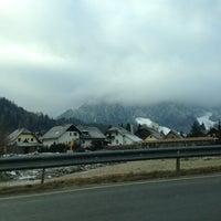 Photo taken at Kranjska Gora by Ales K. on 1/12/2013