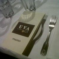 Photo taken at Uva Trattoria Italiana by Lauu on 12/26/2012