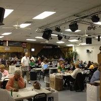 Photo taken at Cave Run Bingo Hall by Bill R. on 9/28/2012