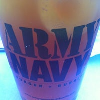 Photo taken at Army Navy Burger + Burrito by April G. on 1/24/2013