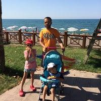 Photo taken at Mustafanın Yeri Beach by Yunus A. on 7/9/2014