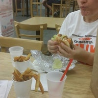 Photo taken at Five Guys by Ed T. on 8/24/2014