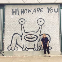 Photo taken at Hi How Are You? Mural by Maureen on 6/26/2017